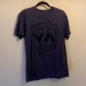Cool RVCA Artist collection Men's plum shirt